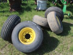 12.5x15 Used Air Drill Tires with Rims