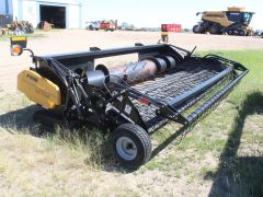 Claas Lexion P516 16' pickup header w/Swathmaster for sale. All new belts, hyd windguard, for Lexion 500, 600, 700 ser.
