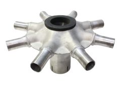 Stainless Universal Distributor Head (8-Port)