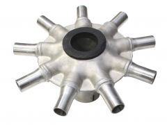 Stainless Universal Distributor Head (9-Port)