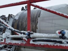 1000 gal stainless steel sprayer tank from a Case IH Patriot SPX 4420 sprayer. Sold with one year warranty.
