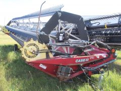 Case IH DH363 36' rigid draper swather header for sale.  Fact transp, DKD, good cond. For Case WD swathers, conversions avail.