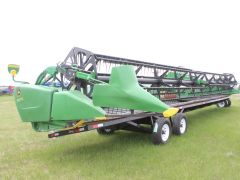 2013 John Deere 640 FD 40' flex draper header for sale at Combine World.  AHHC, DKD, nice cond. For STS/S series.