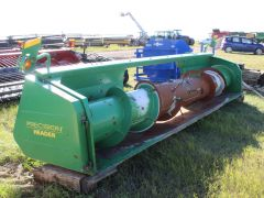 Precision 15H 15' pickup header for sale. Decent, affordable header. 1000 RPM PTO. For JD STS 50 series; single point can be added.