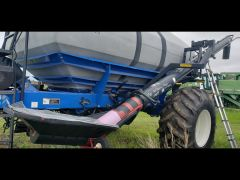 "Loading auger off a NH P1060 air cart. 10"" diameter, 20' long, auger 8/10, no dents, aftermarket air seeder hopper."