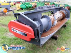 Good used 2006 Massey Ferguson 4200 14' pickup header for sale at Combine World in Saskatoon, SK.