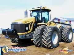 Challenger MT965B 4WD tractor for sale. 525 HP, GPS & steering, 16 fwd/4 rev, 4 hyds@44 GPM, duals, nice condition.