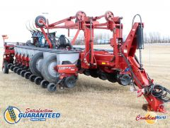 "Case 1250 Early Riser 24-row planter for sale.  60' wide, 30"" spacing, single shoot, CNH dual coulter/pakcer openers, 600 gal tank, v. good cond."