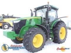 2015 John Deere 7290R MFWD tractor for sale. 4025 hrs, 290HP, IVT, cab & axle susp, nice tractor.