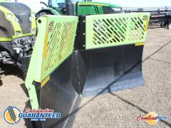 2015 Schulte V100 SV-10 10ft hydraulic V-plow for sale at Combine World. 10' wide, 2 sections, 30 degree angle, like new.