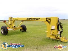 2012 Degelman 1820 Sidearm for sale at Combine World.