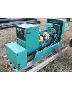 1983 Onan 45 Genset Natural Gas Generator (347/600v 3-Phase)