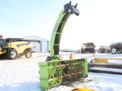 """Schulte SDX117 112"""" 3PH snowblower for sale. 117"""" wide, 1000 RPM PTO, hyd chute rotation & deflection. Overall 75%, nice cond."""