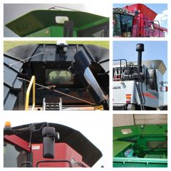 Used Factory Hopper Extensions for Combines