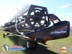MacDon FD70 40' flex draper header for sale at Combine World. Please contact us for more details.