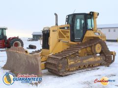 "CAT D6N dozer for sale. 14,003 hrs, 5spd, 6-way blade (13' x 40""), 7' ripper, 33"" tracks, CAT SystemOne undercarriage, good condition."