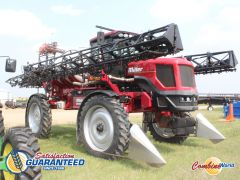 Miller Condor G75 sprayer for sale. 120', 1000 gal poly, 275 HP, 2WD, GPS, autosteer, auto-rate, duals, 6 spd auto. Cab very good., v. nice.