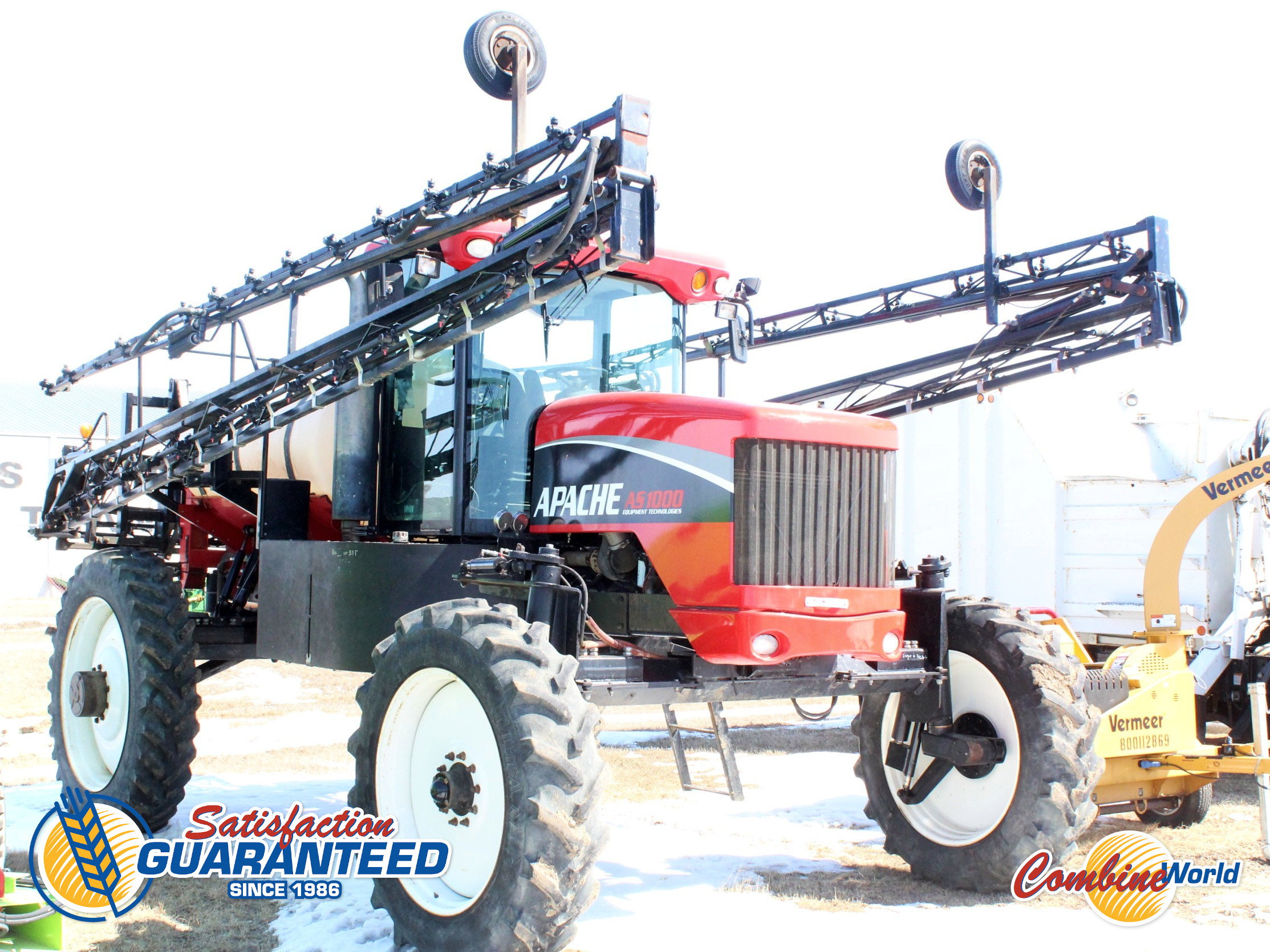 2005 Apache AS1000 SP Sprayer