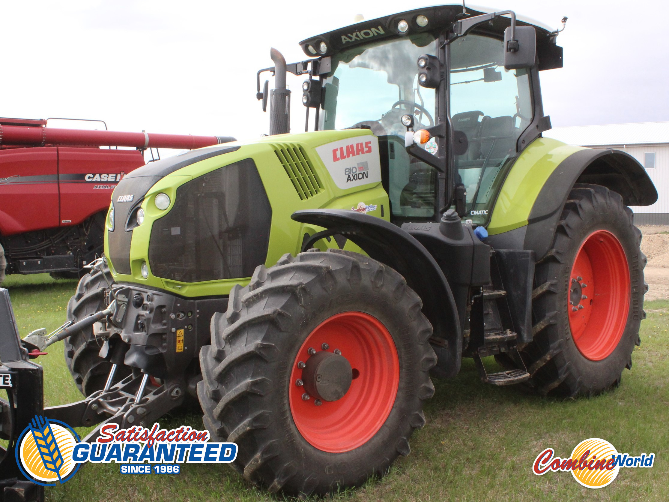 2015 Claas Axion 810 MFWD